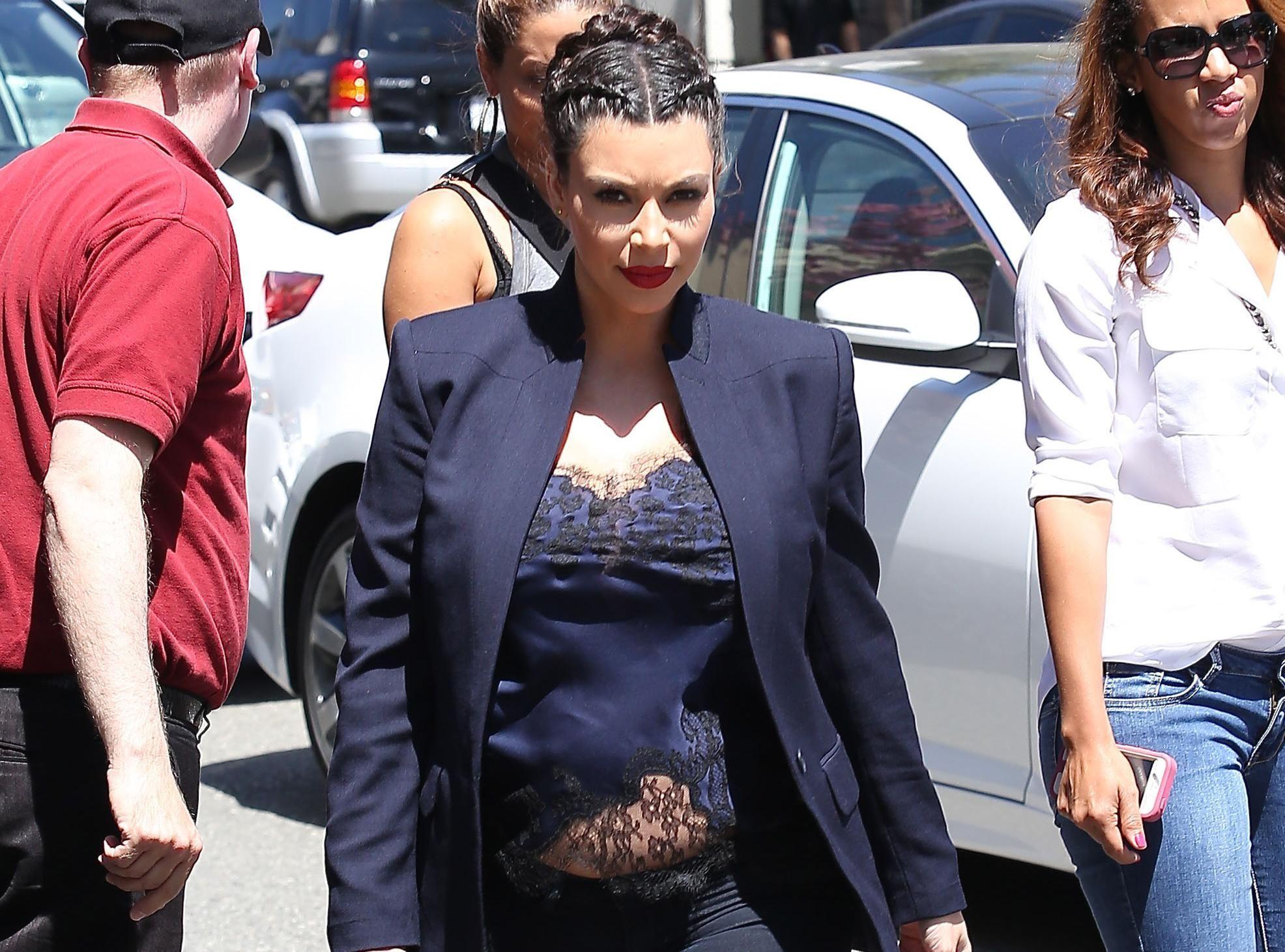 Photos : Kim Kardashian : pas vraiment pudique en ce qui