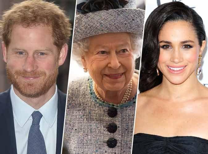 Photos  La reine Elizabeth II remontée contre Meghan Markle. Elle refuse  d\u0027assister au mariage du Prince Harry