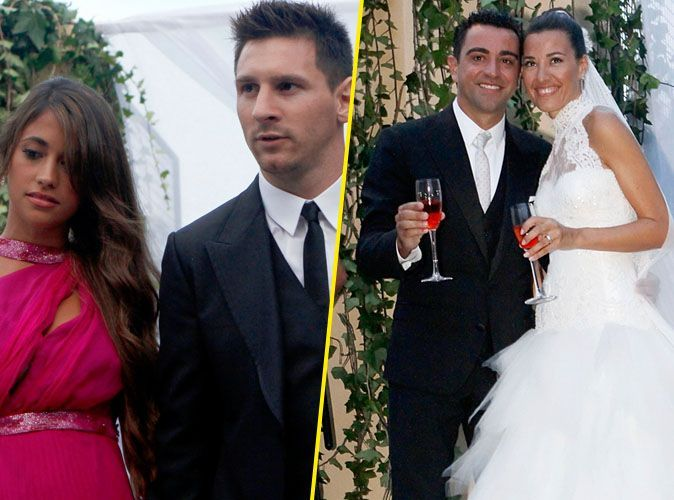 Photos  Lionel Messi  sur son 31 pour le mariage de son co,équipier Xavi  Hernandez !