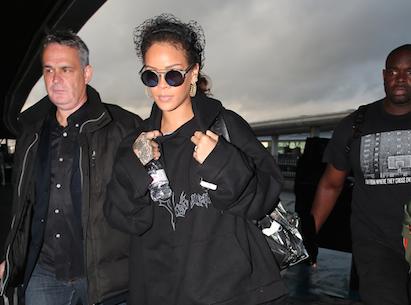 Photos : Rihanna : bye bye Paris, triste retour à Los Angeles !