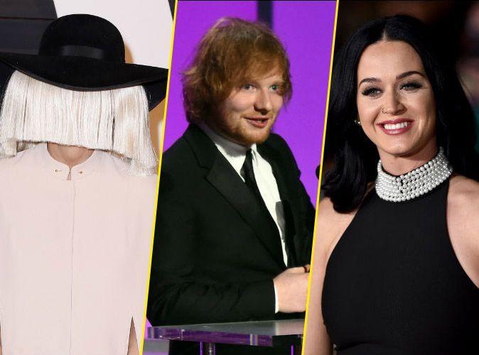 5a0f2a7d97e0 Photos   Sia, Ed Sheeran, Katy Perry... ces stars qui ont écrit des tubes  pour les autres !