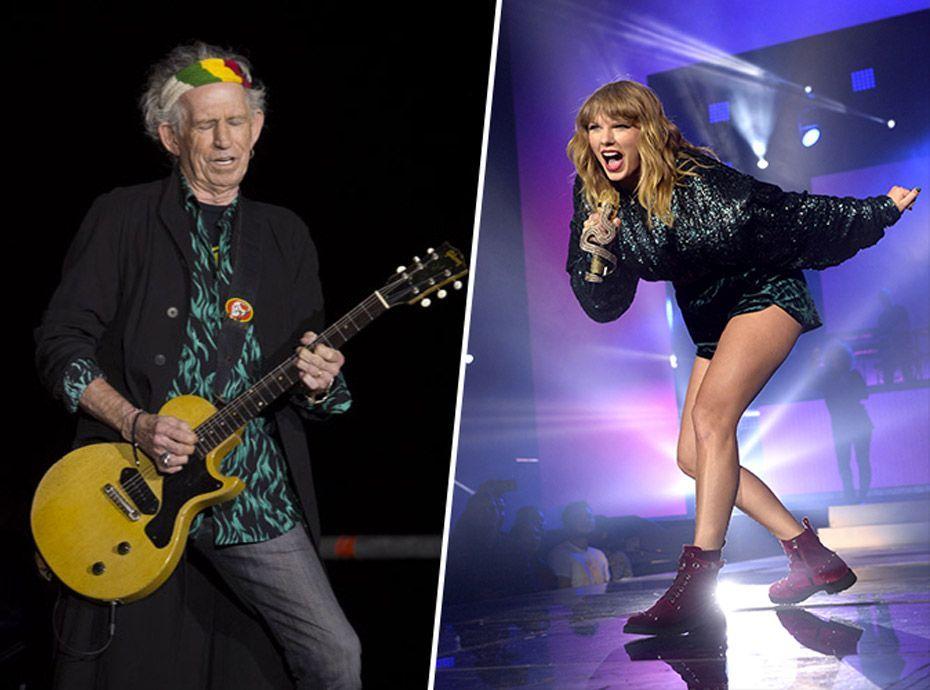 Pour Keith Richards, Taylor Swift n'a pas ce qu'il faut pour durer