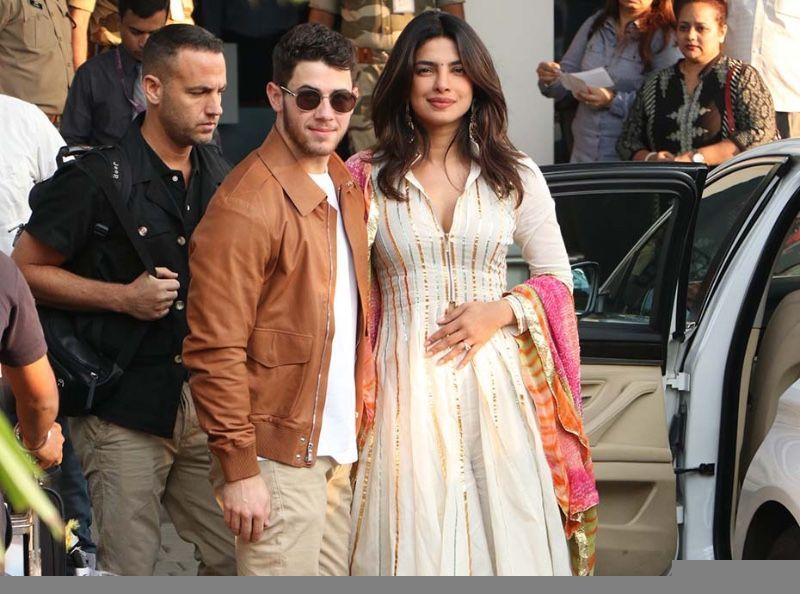 Priyanka Chopra et Nick Jonas se sont mariés en Inde ! Découvrez toutes les  photos du mariage !