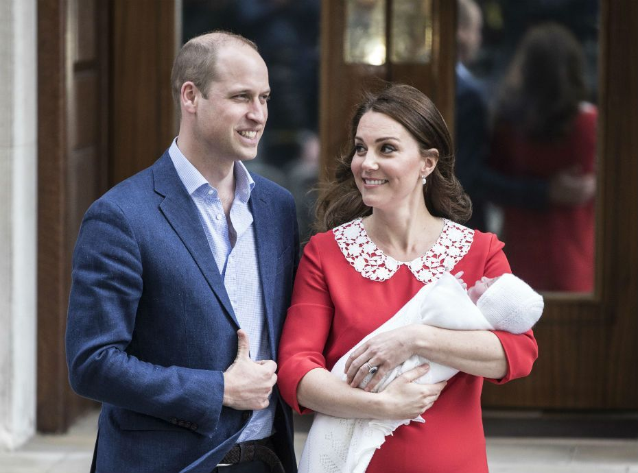 Public Royalty : on connaît ENFIN le prénom du royal baby de Kate et William !