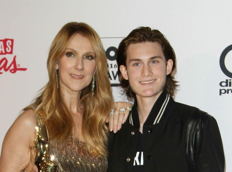 René-Charles Angélil : le fils de Céline Dion avec une moustache, ça donne quoi ?