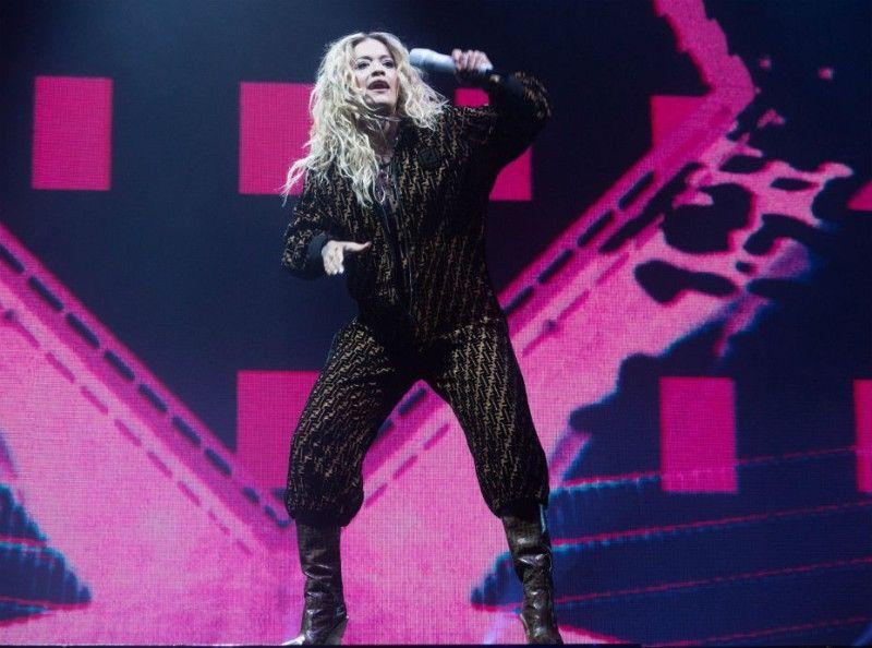 Rita Ora a tout donné lors de son concert à Paris