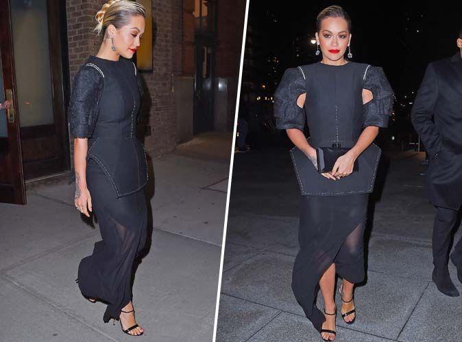 Rita Ora : Qui valide son total look noir ?