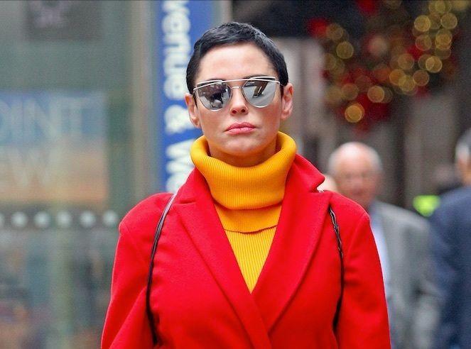 Rose McGowan : L'actrice arrêtée !