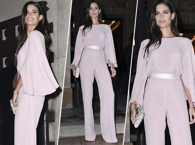 Olivia palermo un look sage chic et styl - Combinaison rose pale ...