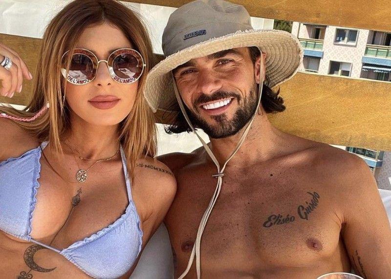 Sarah Lopez et Julien Guirado : tout petit bikini, pose sexy, abdos saillants... la photo HOT et la GROSSE gaffe ?