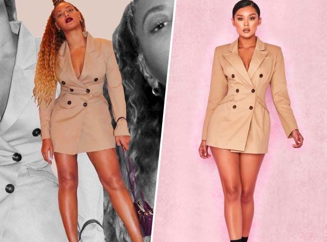 ConformeLa Robe House Shopping De Cb Beyoncé Of Copie Blazer Cintrée pGULSqzMV
