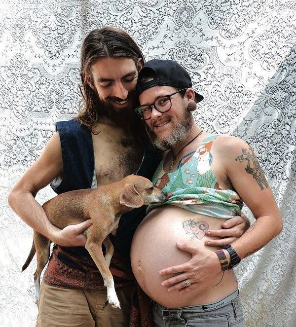 rencontrer un homme enceinte