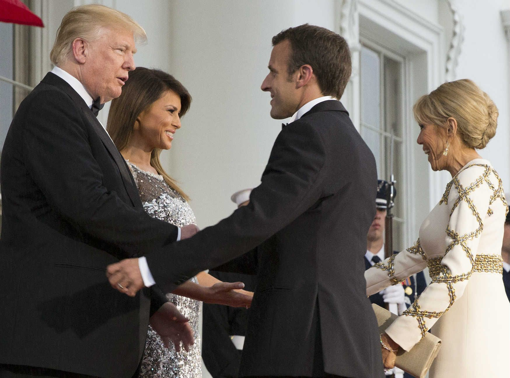 Topnewspublic le dîner detat demmanuel macron à la maison blanche le retour royale davril lavigne