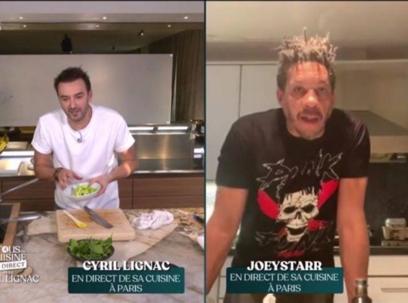 Tous En Cuisine Joeystarr Irrite Par Cyril Lignac Il Pousse