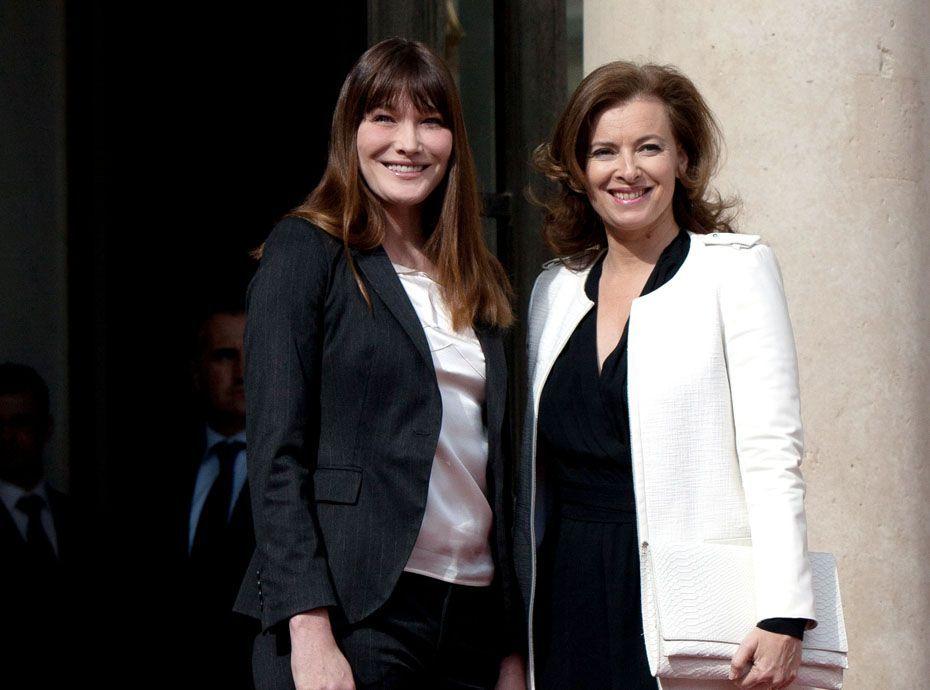 Valérie Trierweiler : maintenant, elle veut se rapprocher de Carla Bruni !