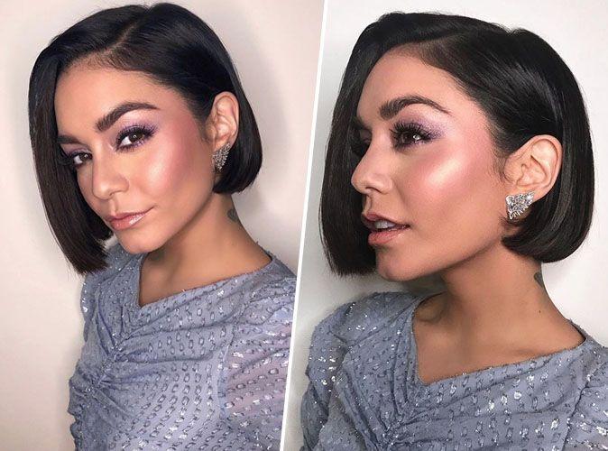 Vanessa Hudgens : regard charbonneux et joues rosées pour un beauty look au top !
