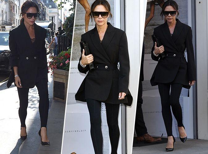 Victoria Beckham : On copie son total look black ultra classe en moins cher !