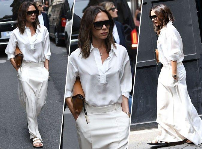 Victoria Beckham : on craque totalement pour son look chic et décontracté