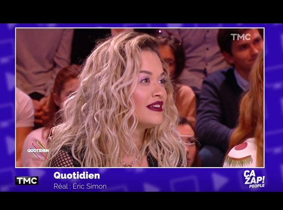 Zapping TV du 23 janvier : Rita Ora livre ses secrets beauté dans Quotidien