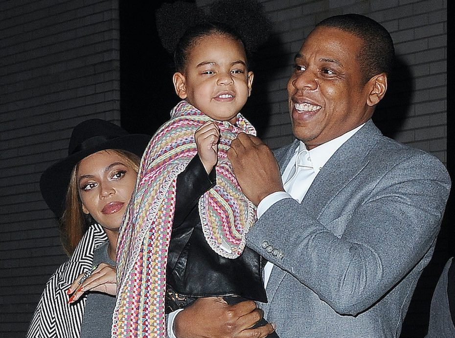 Blue and beyonce ivy 2014