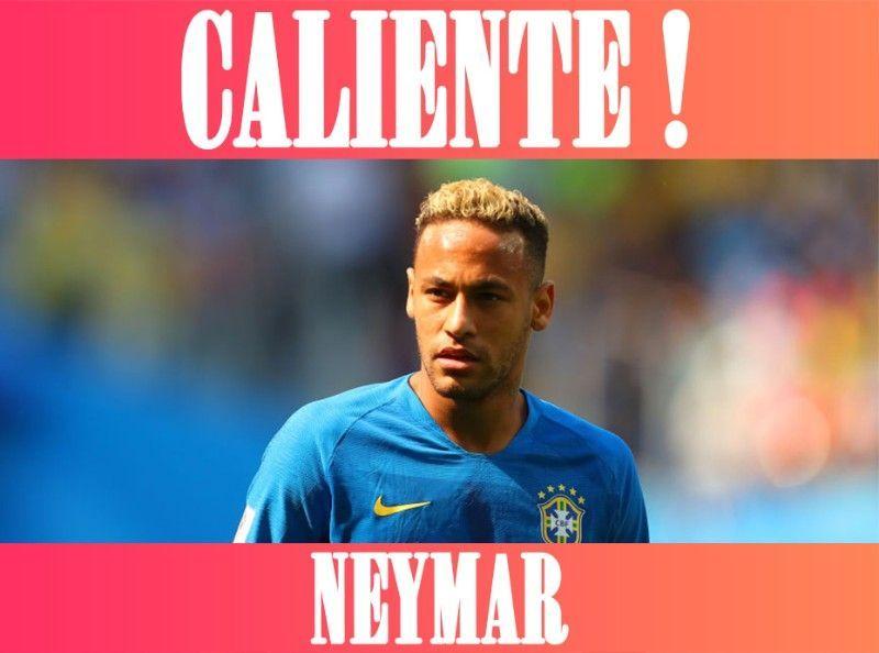 CALIENTE : Neymar, le beau gosse brésilien !