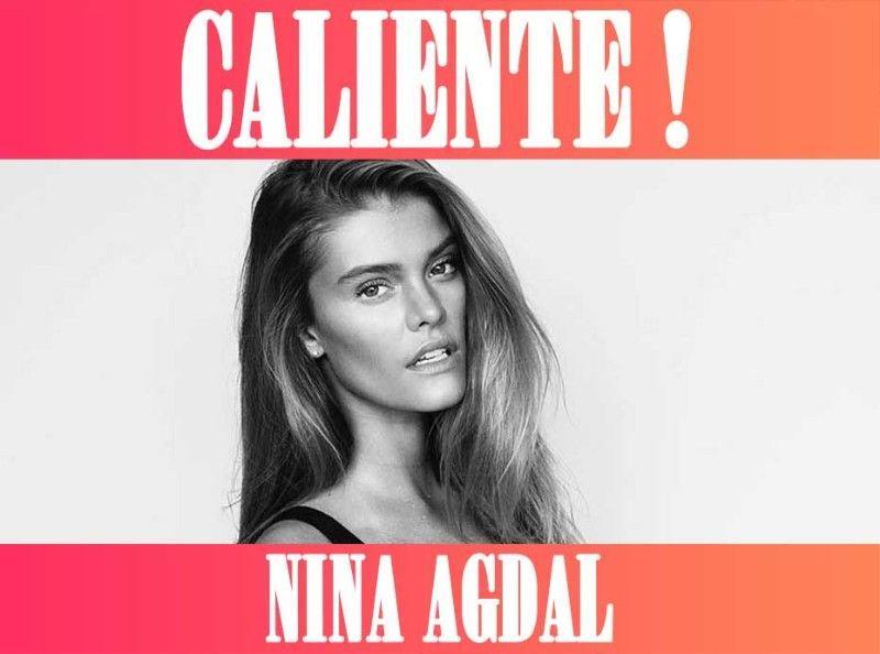 CALIENTE : Nina Agdal : Torride en bikini échancré à New York !