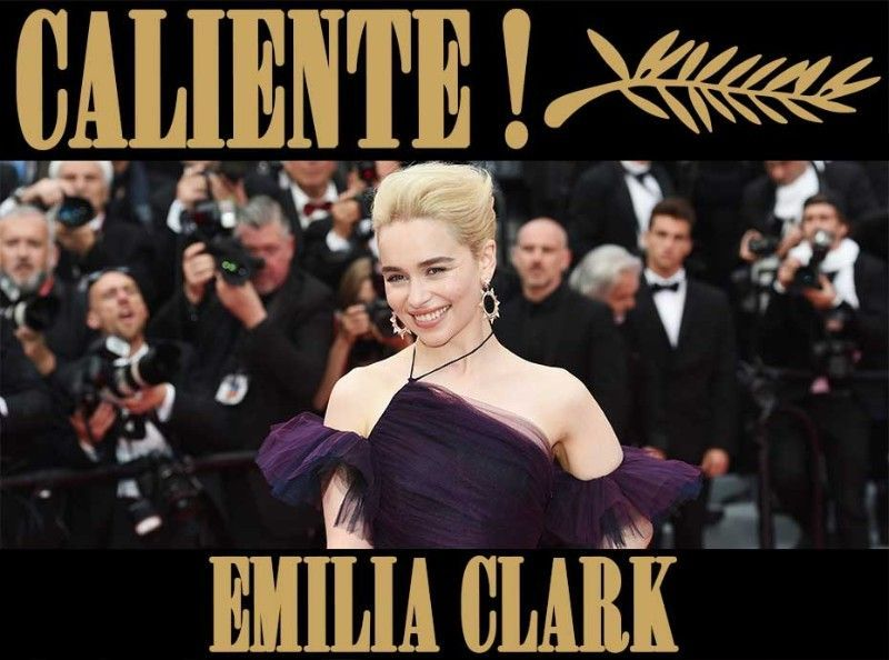 Emilia Clarke : La star de Games of Thrones rayonne sur le tapis rouge !