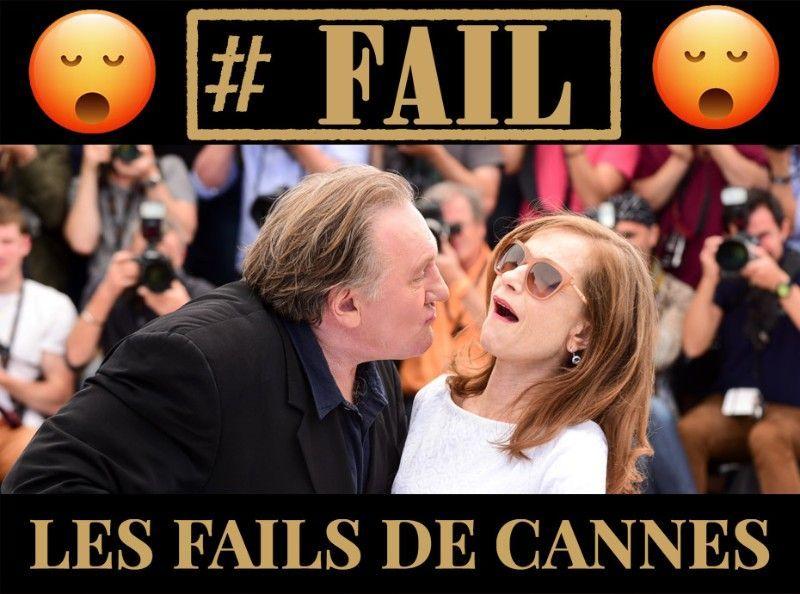 Festival de Cannes : festival d'instants gênants