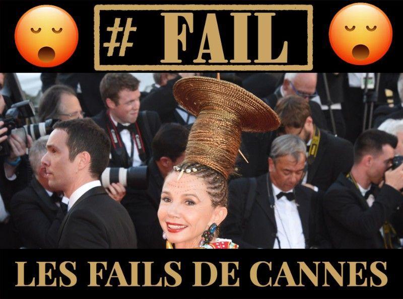 Les fails capillaires des stars à Cannes