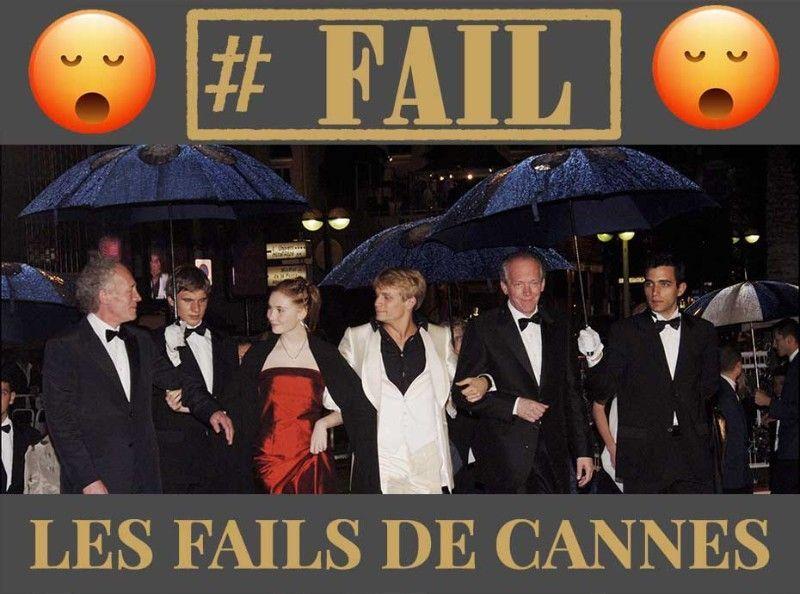 Les fails de Cannes : La météo difficile