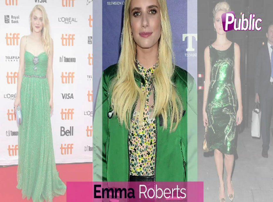 Lourdes leon apr s s 39 tre ras e la t te elle se teint - La couleur qui va avec le vert ...