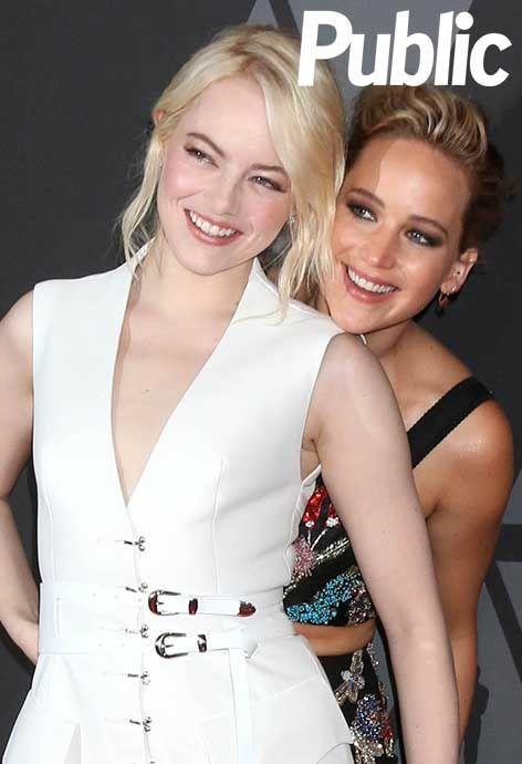 Emma Stone, Jennifer Lawrence, Margot Robbie... Élégantes comme jamais pour les Governors Awards 2017 !