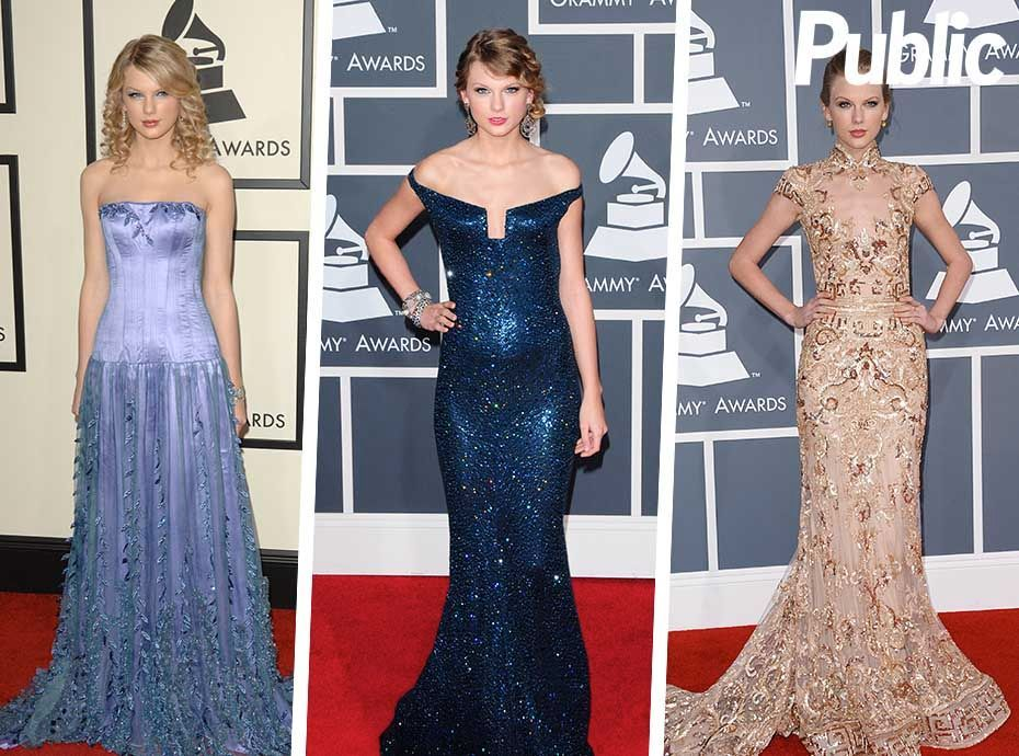 Happy Birthday Taylor Swift : Ses plus belles robes sur tapis rouge !