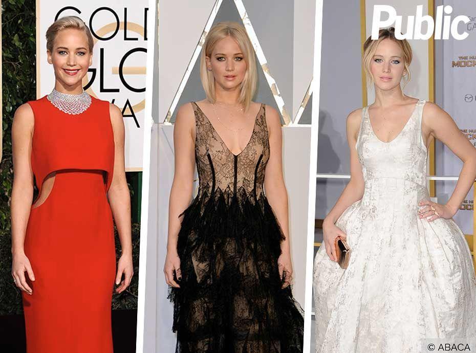 Jennifer Lawrence : Ses plus belles robes sur tapis rouge !