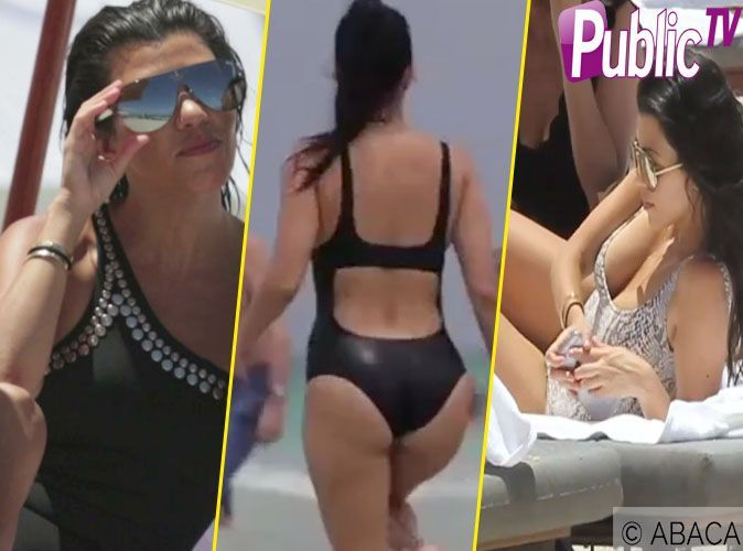 bb96a8e33073e Kourtney Kardashian : Découvrez sa collection sexy de maillots de bain !