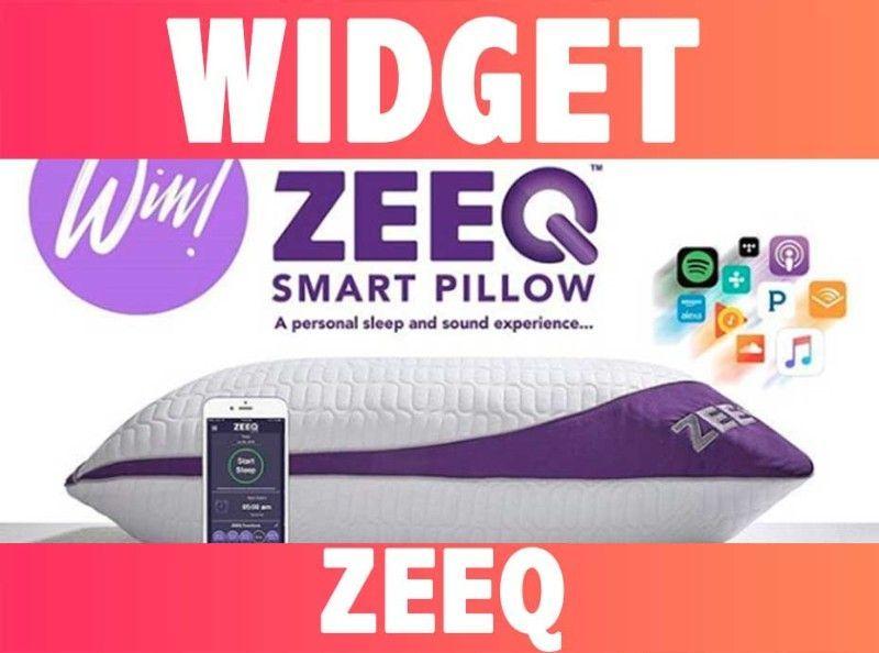 WIDGETS : ZEEQ the smart pillow : Le coussin intelligent connecté !