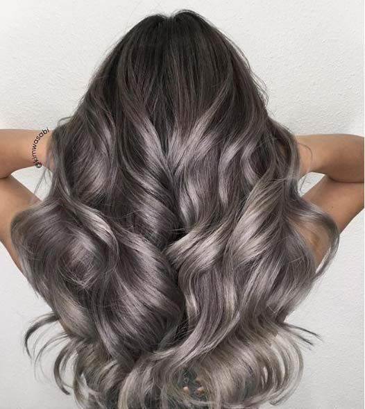 Idee coloration cheveux long
