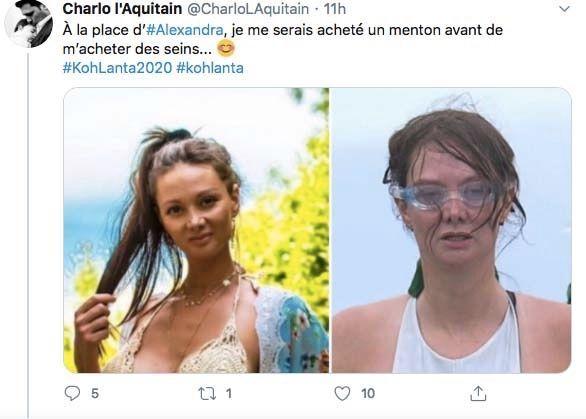 Alexandra Koh Lanta Les 4 Terres Atomisee A Cause De Ses Photos Instagram Sexy