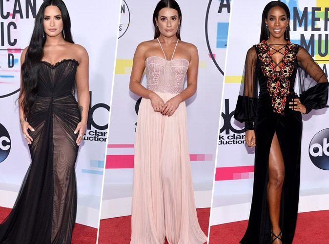American Music Award's 2017 : Demi Lovato, Lea Michele, Kelly Rowland... tous les plus beaux looks de la soirée !