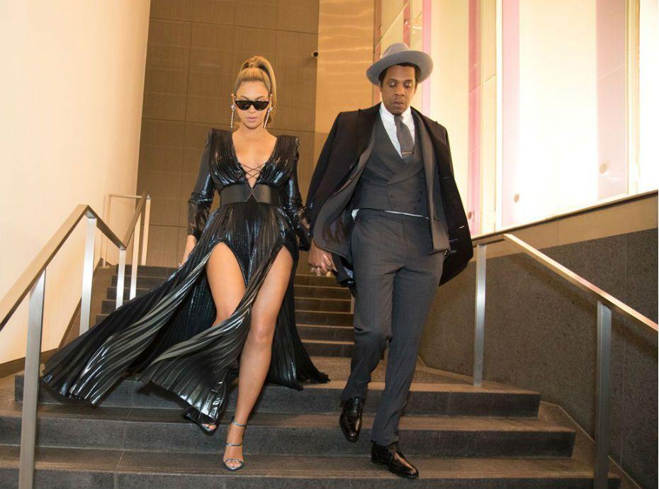 Beyoncé et Jay-Z ...