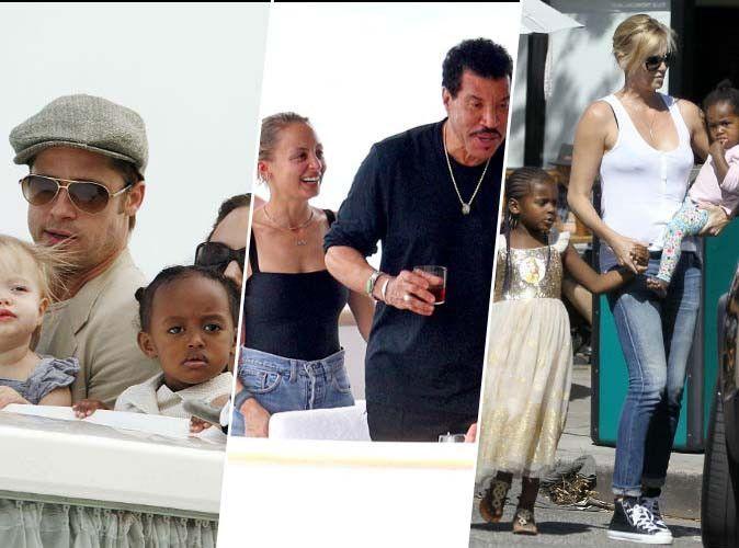 Brangelina, Lionel Richie, Charlize Theron... ces stars qui ont adopté !