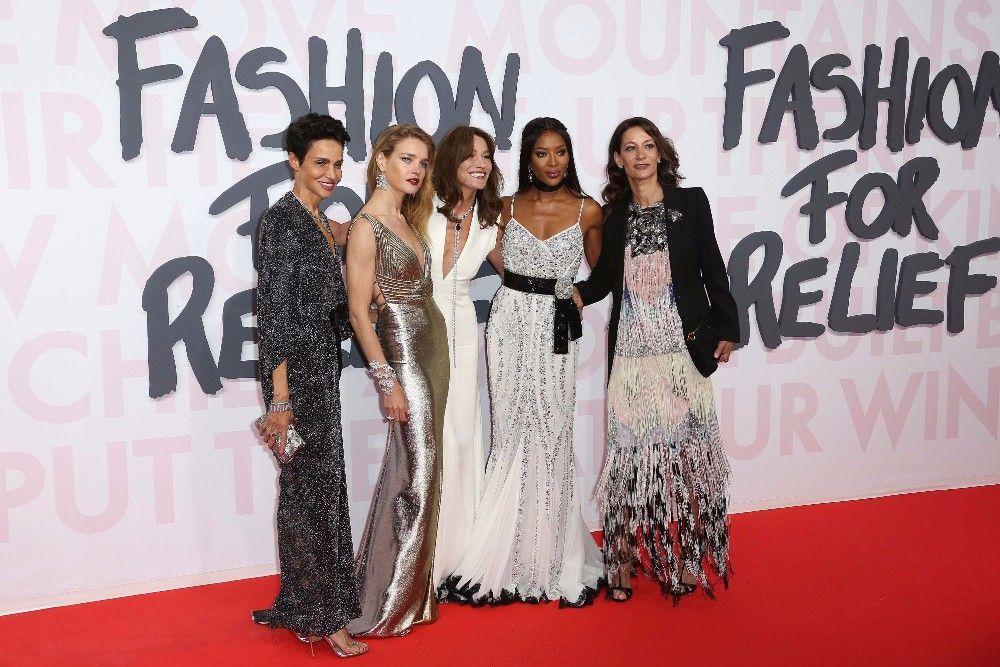 Cannes 2018 : Fashion For Relief : Farida Khelfa, Carla Bruni, Naomi Campbell... Réunion d'icônes au sommet !