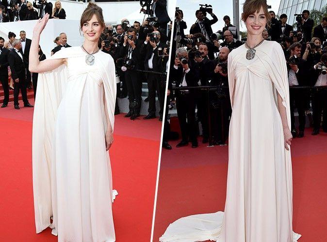 Cannes 2018 : Louise Bourgoin : Fraîchement nommée nouvelle égérie L'Oréal Paris, elle rayonne sur le tapis rouge