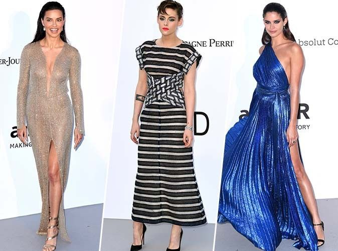 Cannes 2018 : Adriana Lima, Kristen Stewart, Sara Sampaio... pluie de stars au gala de l'amfAR !