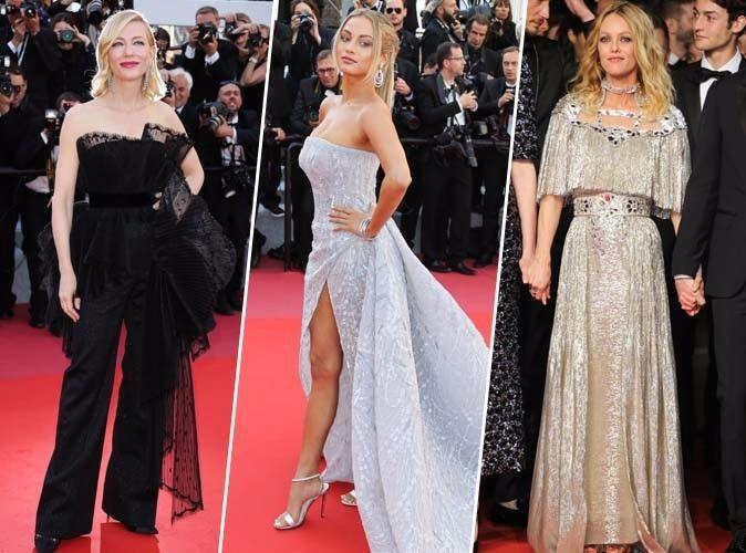 Cannes 2018 : Cate Blanchett, Rose Bertram, Vanessa Paradis...  Tous les plus beaux looks du tapis rouge !