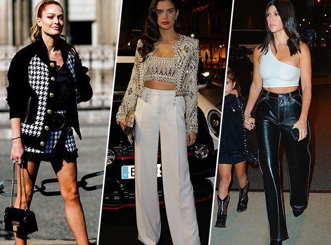 Caroline Receveur, Sara Sampaio, Kourtney Kardashian... qui a été la plus stylée cette semaine ?