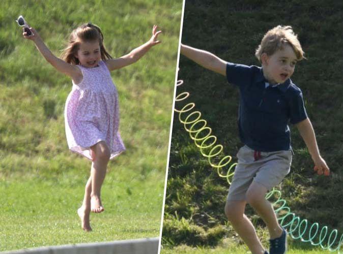 Ces photos de Charlotte et George de Cambridge que vous ne verrez pas tous les jours...