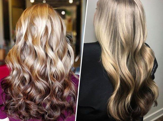 Couleur balayage cheveux