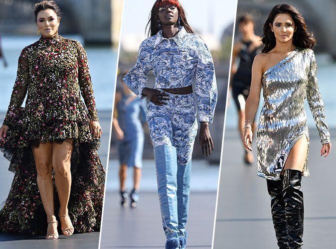 Défilé L'Oréal Paris : Eva Longoria, Duckie Thot, Cheryl Cole... les égéries ont enflammé la Seine !