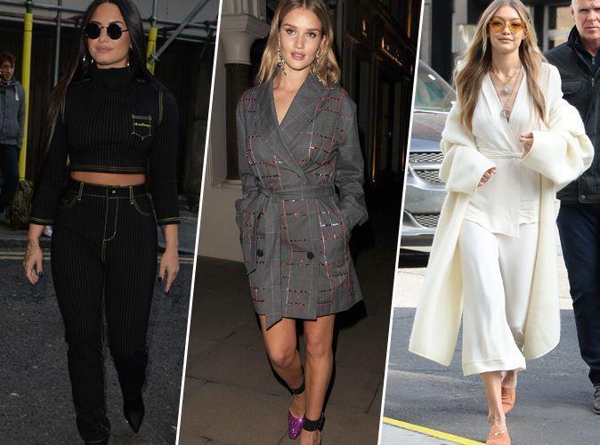 Demi Lovato, Rosie Huntington-Whiteley, Gigi Hadid... Qui a été la plus stylée cette semaine ?